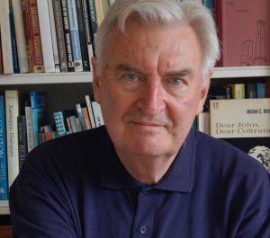Portrait photograph of Ken Worpole, author.
