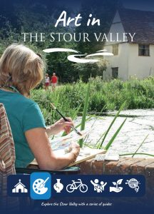 Cover of Art In The Stour Valley Leaflet