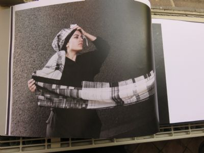 Photograph of 'Unravelling My Secret Message', a book bound by Andreas Maroulis
