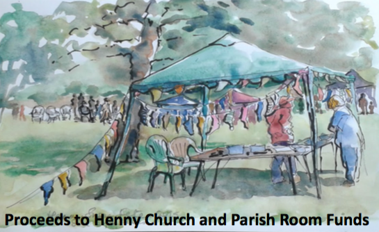 Drawing of Henny Fete